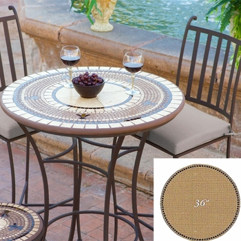 """Mosaic Table Top - 36"""" Round"""
