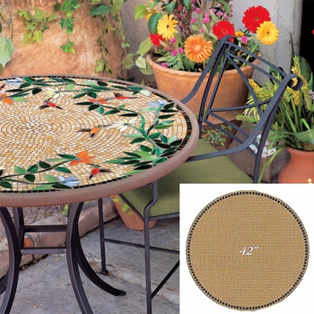"""Mosaic Table Top - 42"""" Round"""