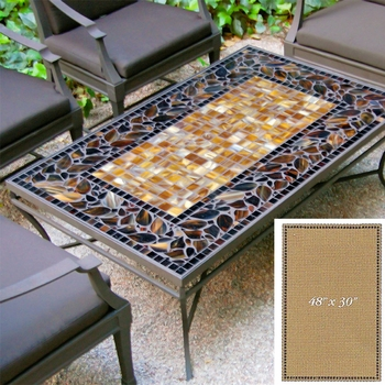 """Mosaic Table Top - 48"""" x 30"""""""