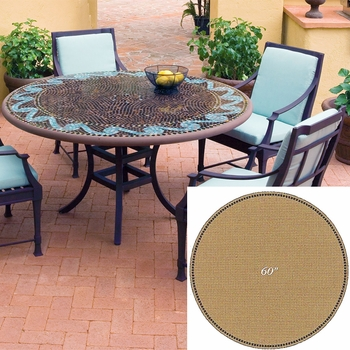 """Mosaic Table Top - 60"""" Round"""