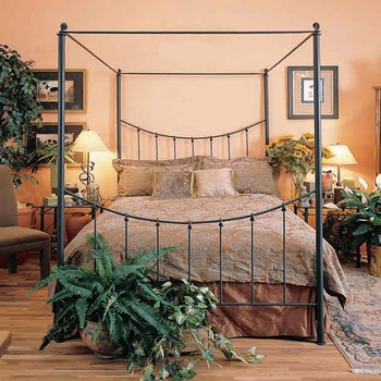 Wrought Iron Canopy Beds