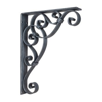 Knotted Scroll Iron Bracket