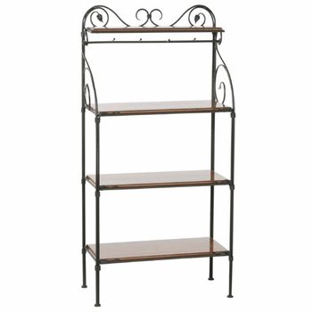 Leaf Bakers Racks - 4 Tier