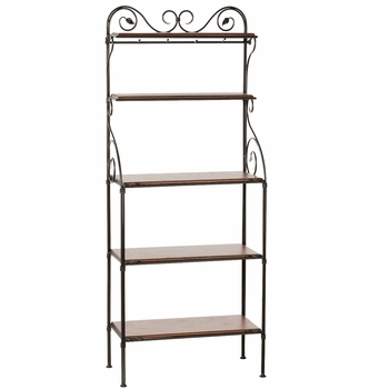 Leaf Bakers Racks - 5 Tier