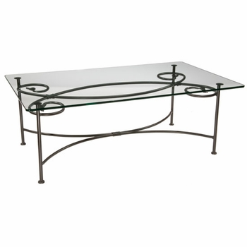 Leaf Cocktail Table w/50x30 Top