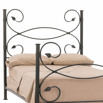 Leaf Iron Headboard & Frame