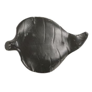 Leaf Hand Forged Iron Knob