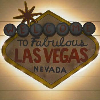 Lighted Las Vegas Sign - Small