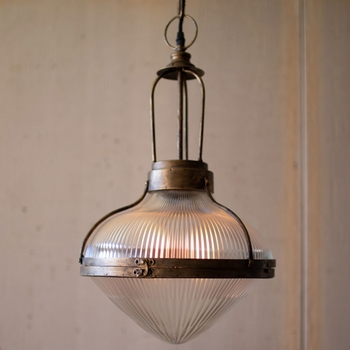 Old School Dome Pendant Light