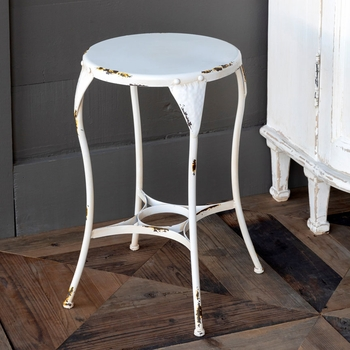 Metal Milk Parlor Stool