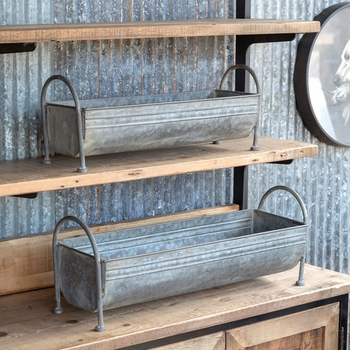 Metal Trough Containers (Set-2)