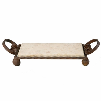 Iron & Marble Mini Slab Tray