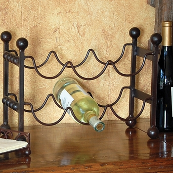 Mission 6 Bottle Wine Rack