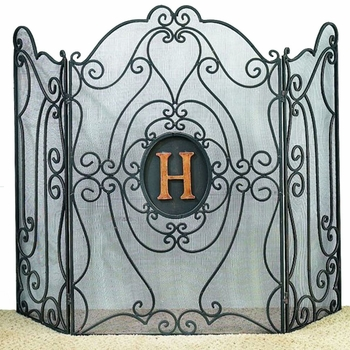 Monogram Fire Screen