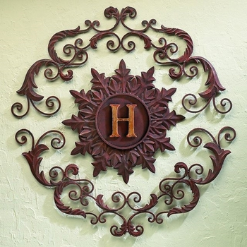 Monogram Three Section Wall Grill