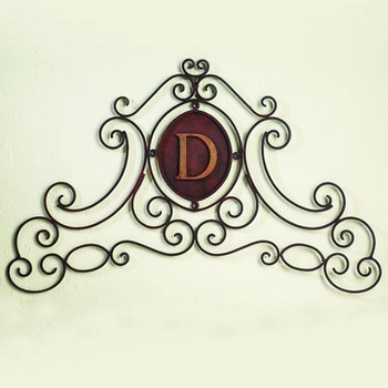 Monogram Wall Grill