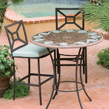 Mosaic High Dining Table - 42""