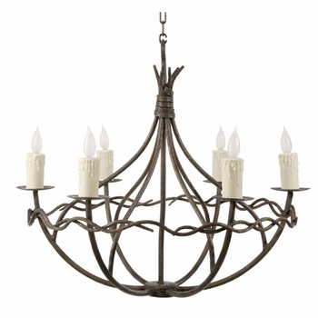 Norfolk 6 Arm Chandelier