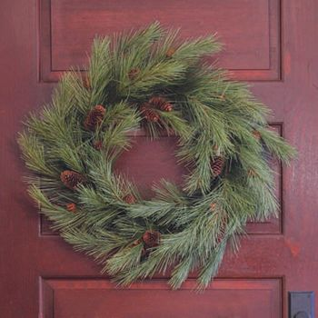"24"" Northern Soft Pine Wreath -CS"