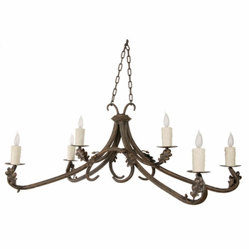 Oakdale 6 Arm Chandelier