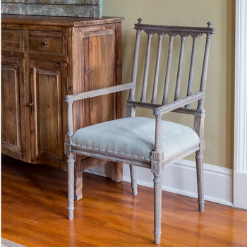 Old Southern Home Arm Chair