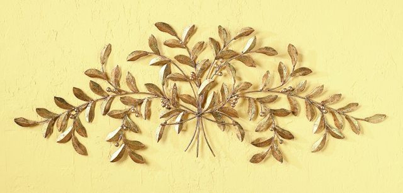 Olive Leaf Wall Plaque