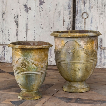 Oyster Metal Pot (Set-2)