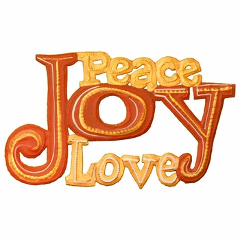 Painted Peace Joy Love