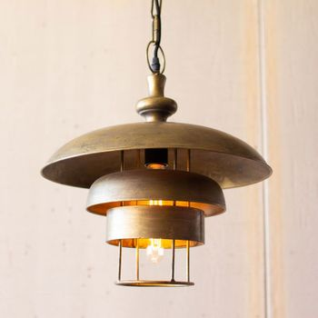 Pendant Lamp with Dome Shade