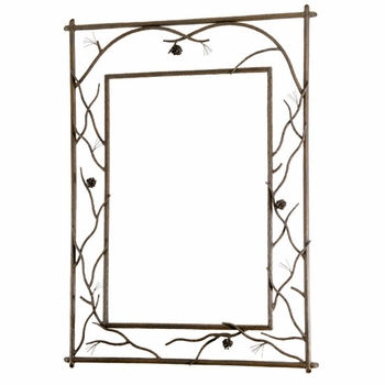 Pine Branched Wall Mirror
