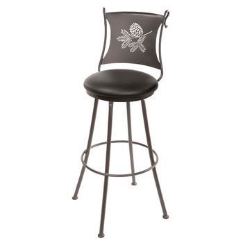Pine Cone Counter Stool