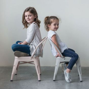 Metal Kids Chairs (Set-2)