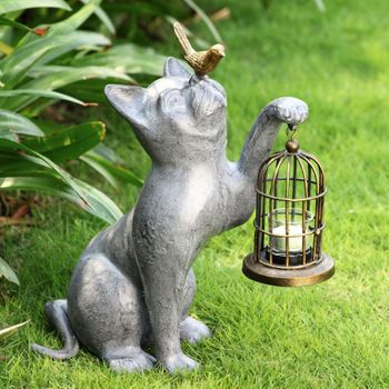 Playful Kitten Lantern
