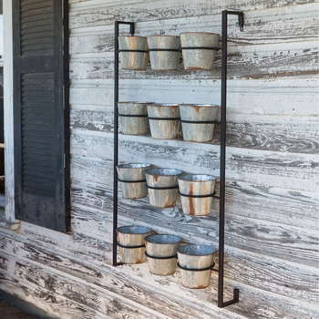 Potted Wall Rack