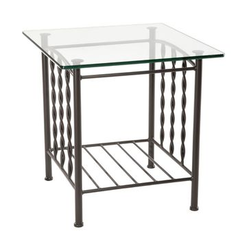 """Prescott Side Table with 24"""" Top"""