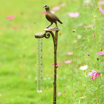 Quail Rain Gauge Holder