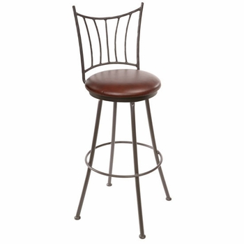 Ranch Wrought Iron Bar Stool
