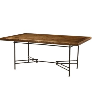 Ranch Dining Table w/ 72x48 Top
