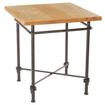 """Ranch Side Table with 24"""" Top"""