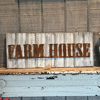 Reclaimed Farm House Sign -DS