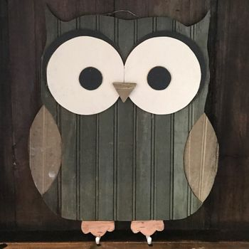 Reclaimed Owl Hook