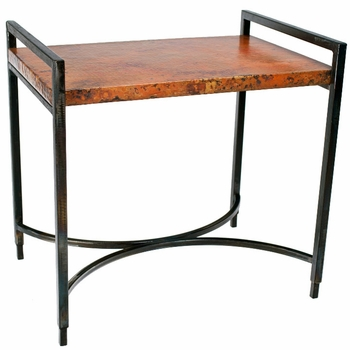 Rectangular Iron Tray Table Base