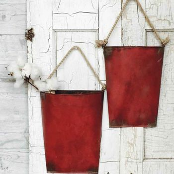 Red Hanging Pockets (Set-2)