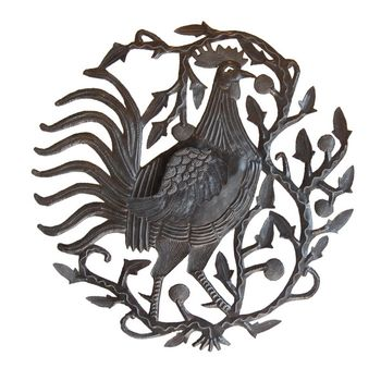 Rooster Plaque