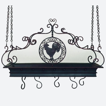 Rooster Pot Rack