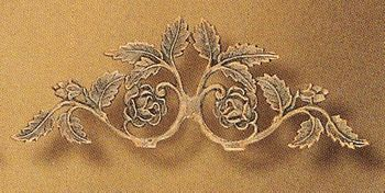 Rose Small Drapery Crown