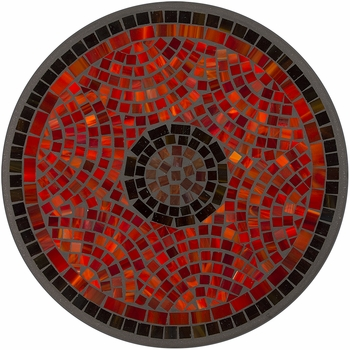 Ruby Glass Mosaic