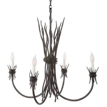 Rush 4-Arm Chandelier