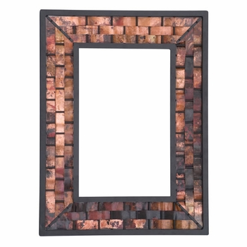 Rushton Copper Wall Mirror