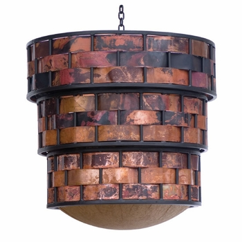 Rushton Iron & Copper Chandelier